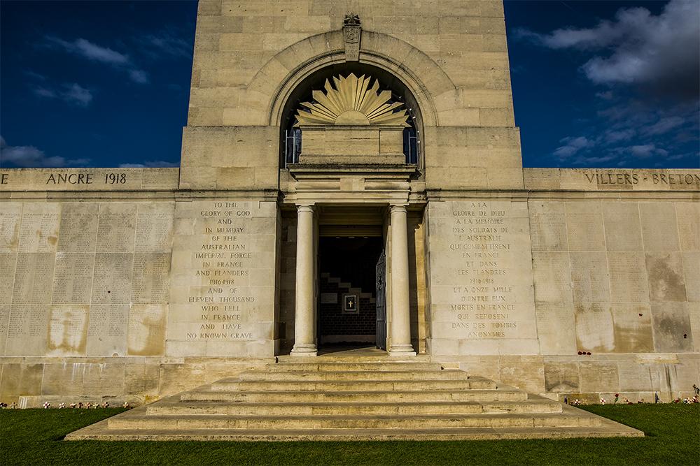 Australian Memorial at VB