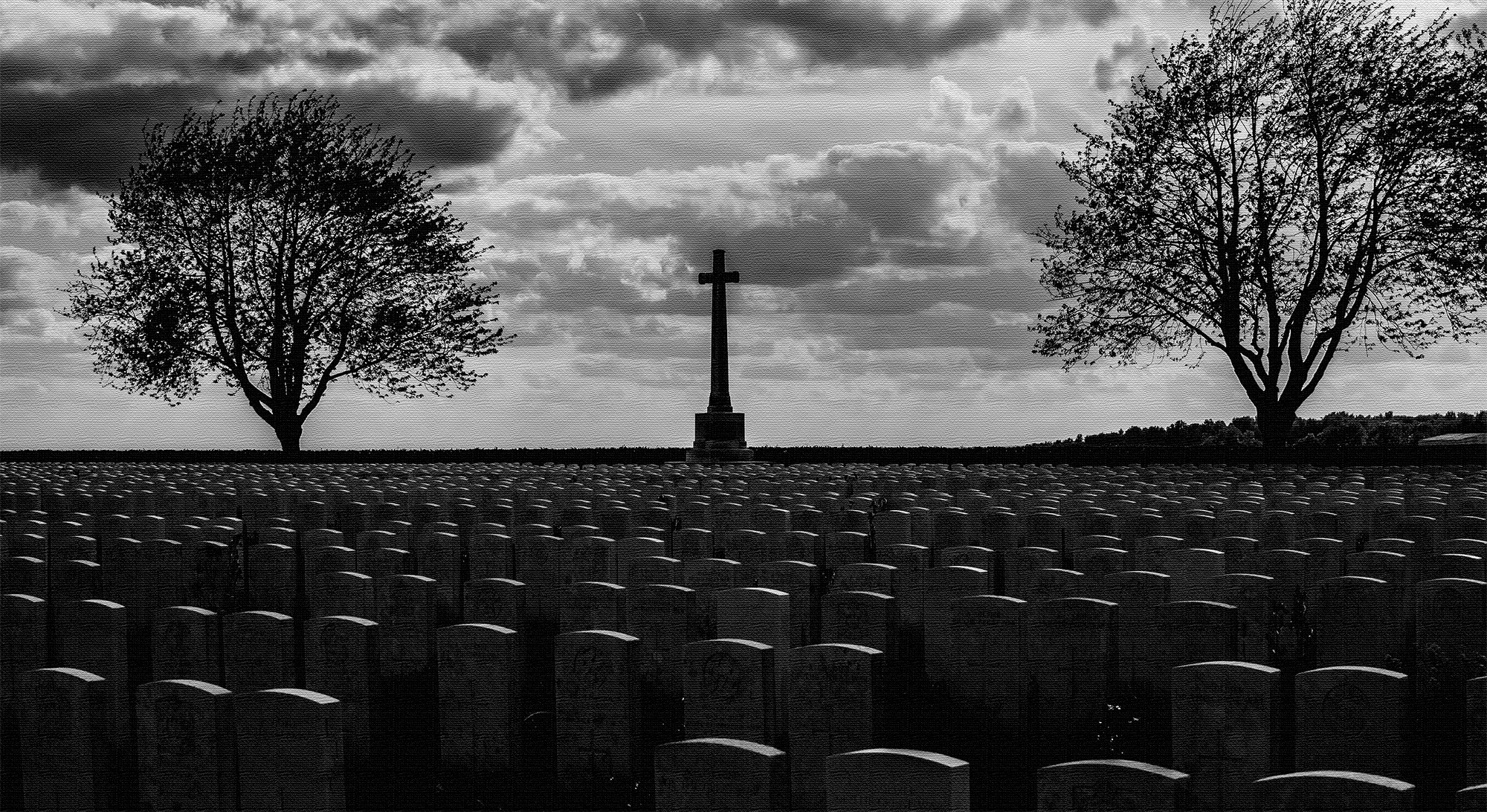 Caterpillar Valley Cemetery, Longueval, France, where 5573 Commonwealth burials and commemorations are contained.