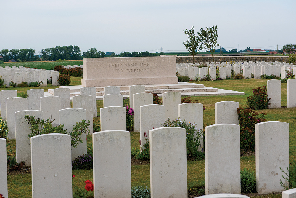 Passchendaele New British Cemetery 3