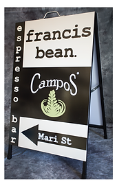 AFrame, A-Frame, footpath sign,