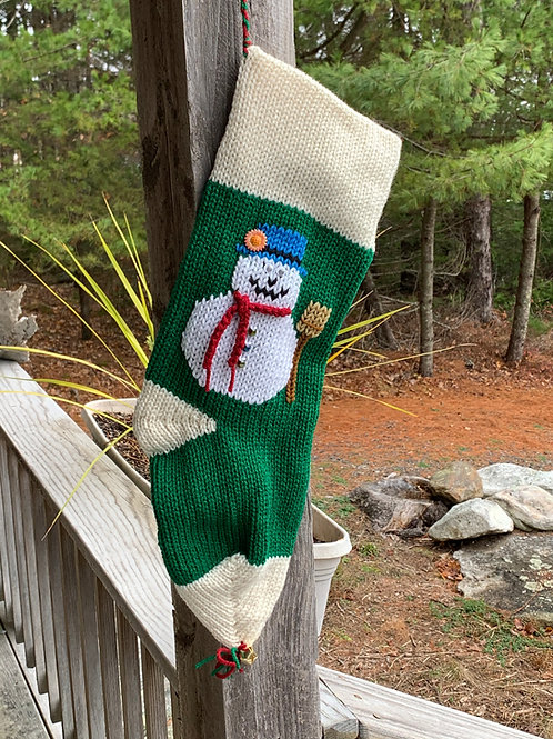 Holiday Stocking, Green