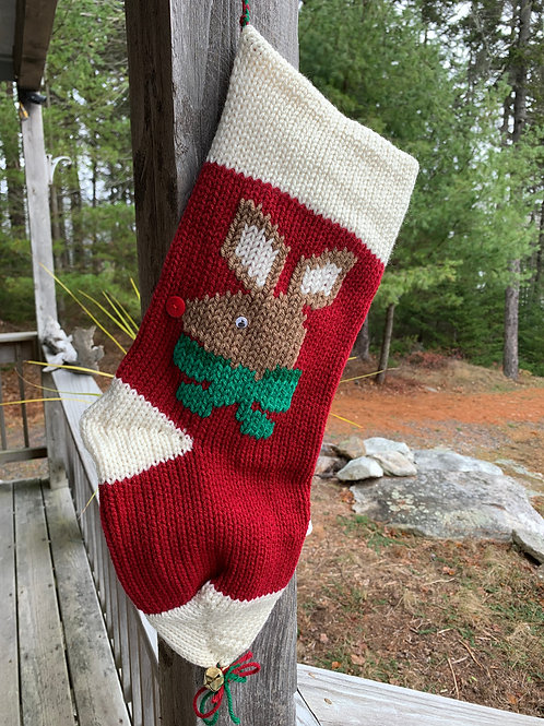 Holiday Stocking, Red