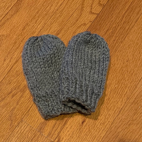 Baby Mitts or Booties (20% Wool)