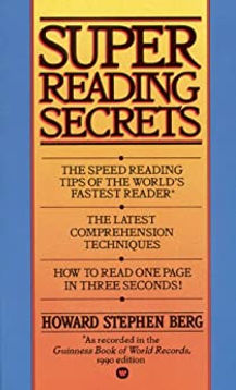 Howard Berg Speed Reading