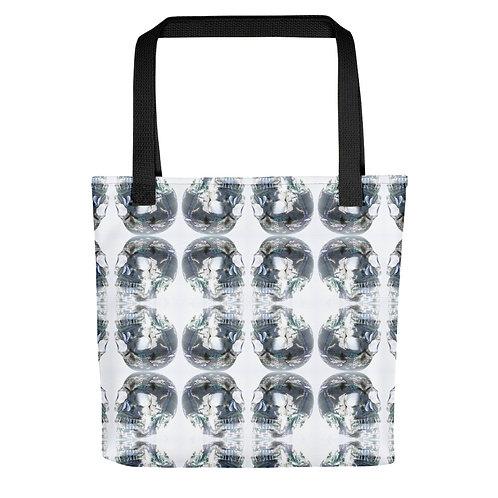 Crystal Skull Tote bag Yoga Bag Shopping Bag Between Heaven and Hell