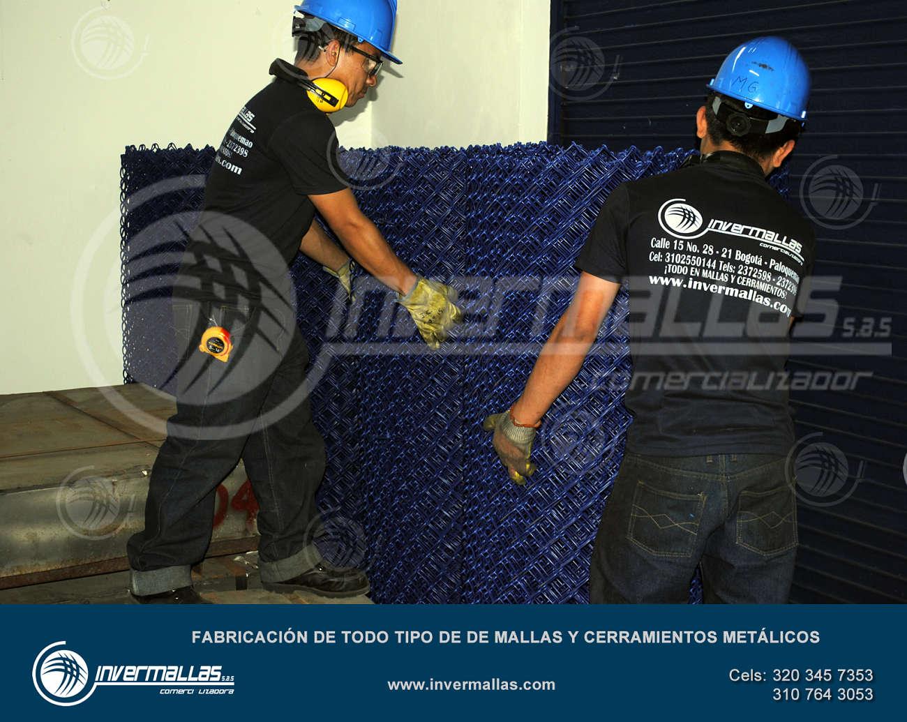 fabricación de malla eslabonada