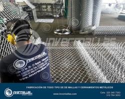 Fabrica de malla eslabonada