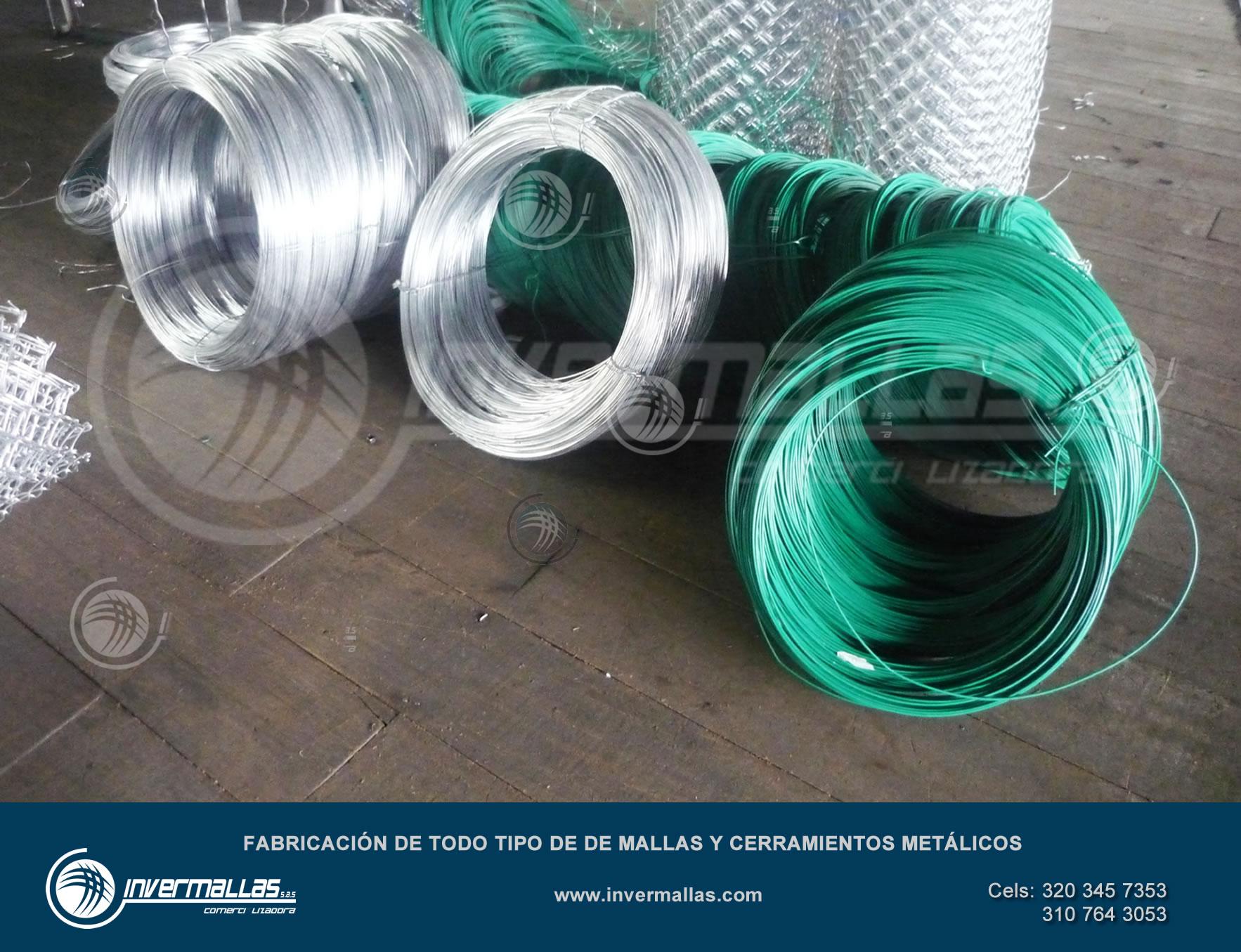 alambre galvanizado precio