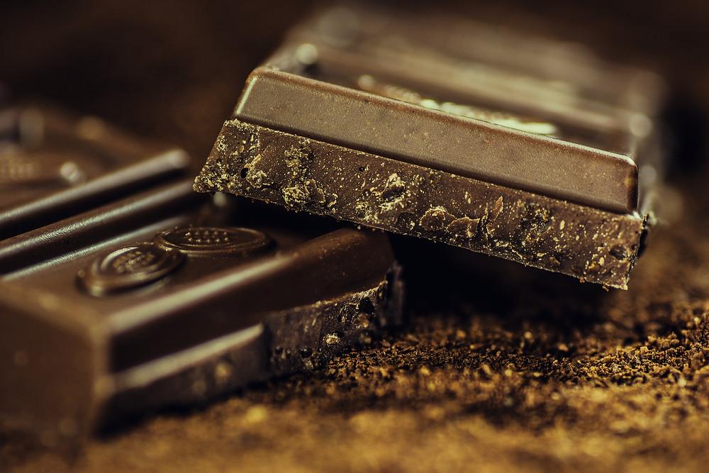 Dark chocolate for creative writers