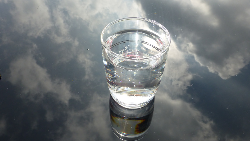 A glass of water for creative writers
