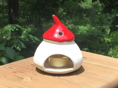小さな家のキャンドルホルダーLittle house candle holder