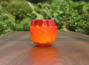 Yaeyama Candle Series Red Glass A-Torita