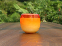 Yaeyama Forest Orange Glass A-Toritani C