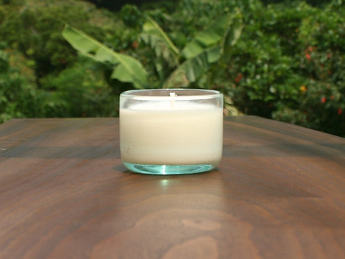 ヤエヤマフォレスト琉球グラスYaeyama Forest green Ryukyu glass candle