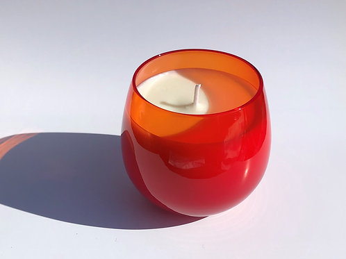 フォレストミストルビーグラス Forest Mist ruby glass candle