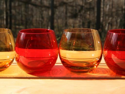 A-Toritani use handmade glass from Joetsu Crystal Glass Company