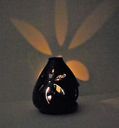 Blue Candle Holder Lit_edited.jpg