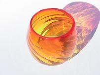 A-Toritani red glass with tea light.JPG