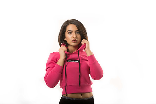 Millennial Women's Hoodie - Pink