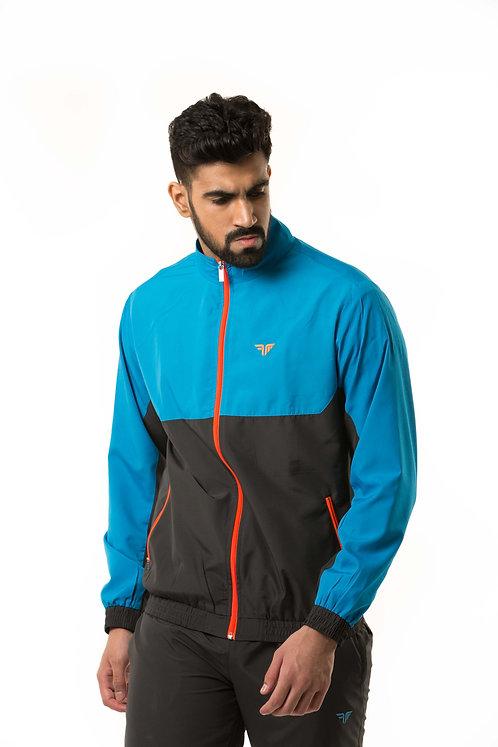 Millennial Men's Track Jacket - Scuba/Coal