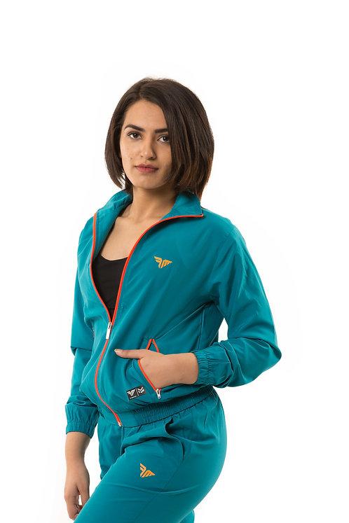 Millennial Women's Track Jacket - Autumn Mint