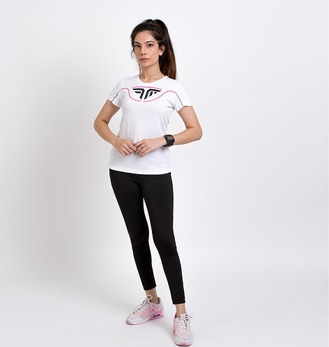 AirTech Women's Tee - White
