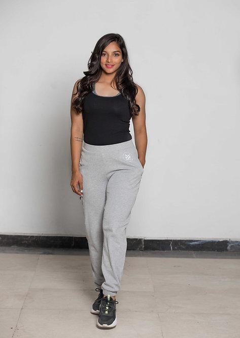 Millennial Women Joggers - Light Grey
