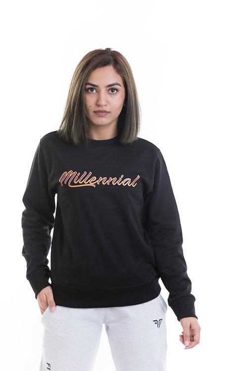 Women's Black Sweatshirt