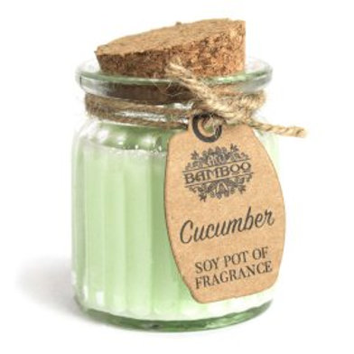 Cucumber Soy Pot of Fragrance Candles