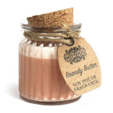 Brandy Butter Soy Pot of Fragrance Candles