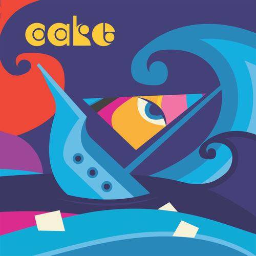 """Cake """"Sinking Ship"""""""