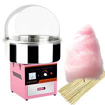 fairy-floss-machine-with-sticks-and-flos