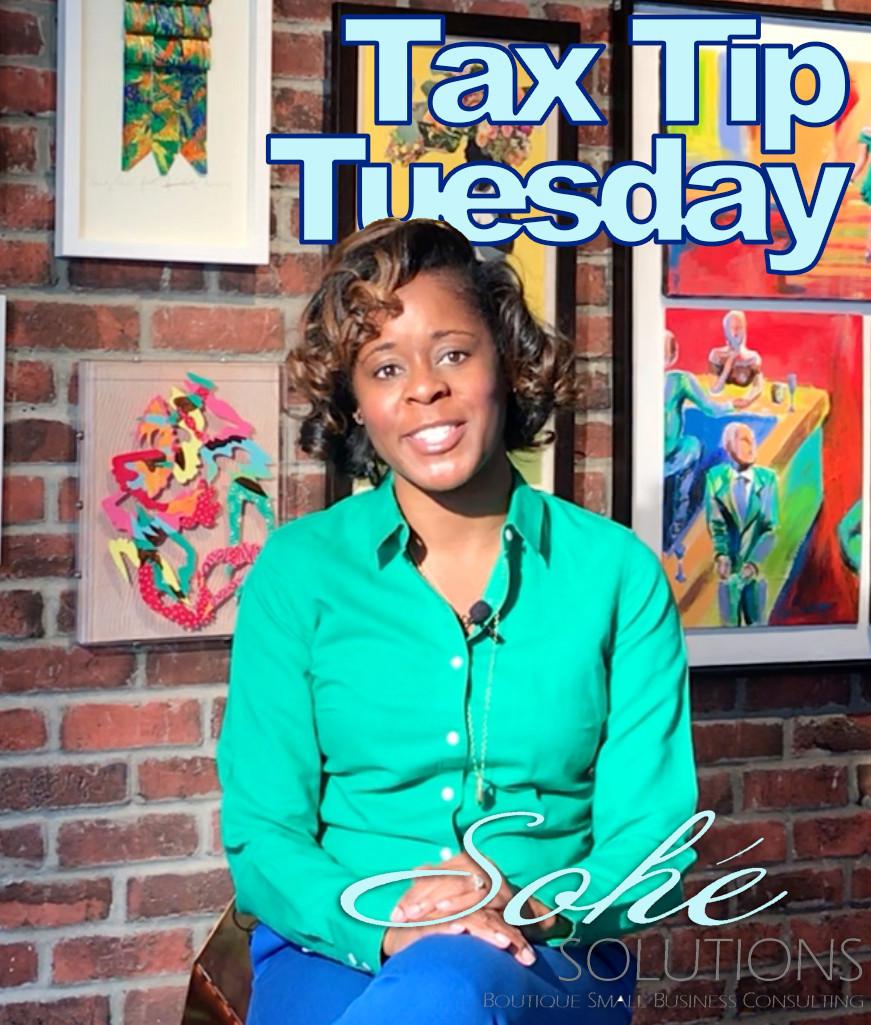 Tax Tip Tuesday