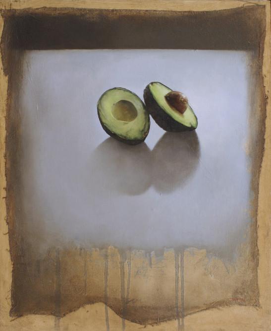 Avocados In Window Light