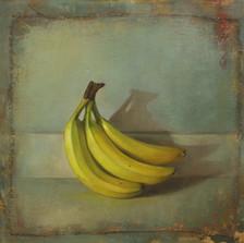 Banana Bunch on Blue