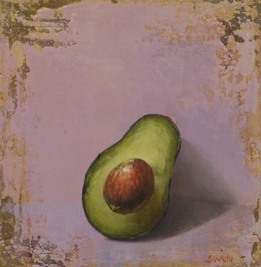 Avocado On Purple