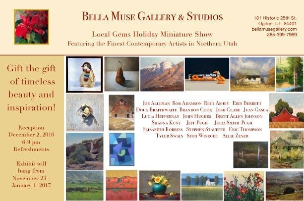 """""""Local Gems"""" at Bella Muse gallery"""