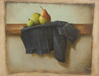 Pears With Old Denim