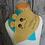 "Thumbnail: Kombi-eBook Blättle und Bubble Beanie inkl Plott & Stickdatei ""cute faces"""