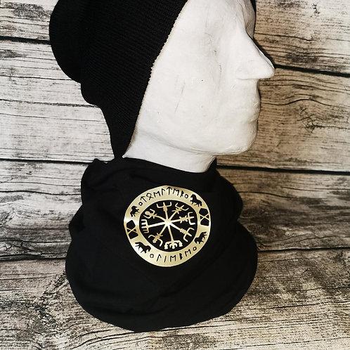 Loop schwarz mit Nordic Icestyle print