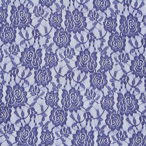 Lace Spitze lila (elastisch)