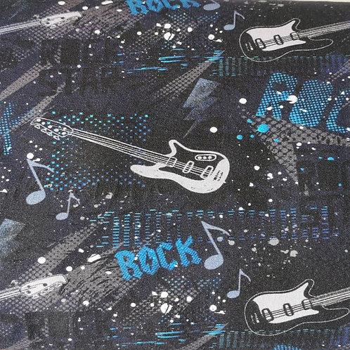French Terry Rock schwarzblau