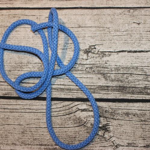 Baumwollkordel blau 8mm
