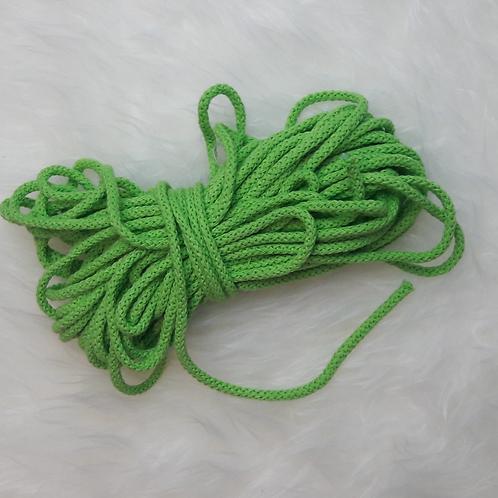 Baumwollkordel 5mm grün