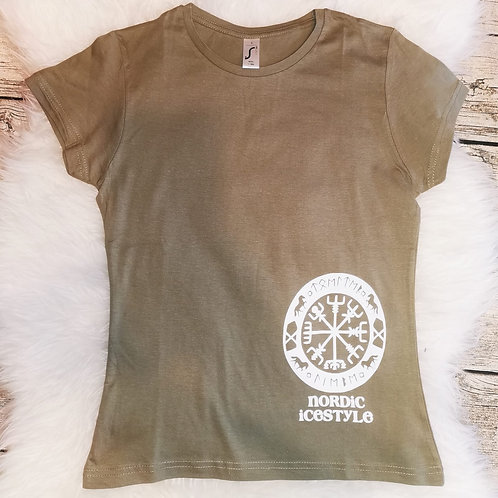 T-Shirt Taupe Nordic Icestyle