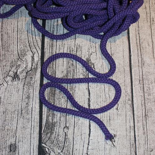 Baumwollkordel lila 8mm