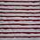 Thumbnail: Baumwolljersey Malerstreifen rot
