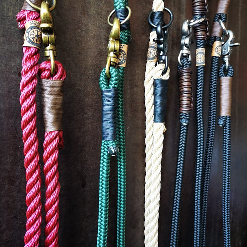Paracord Reiterleine passend zu deinem individuellem Halsband