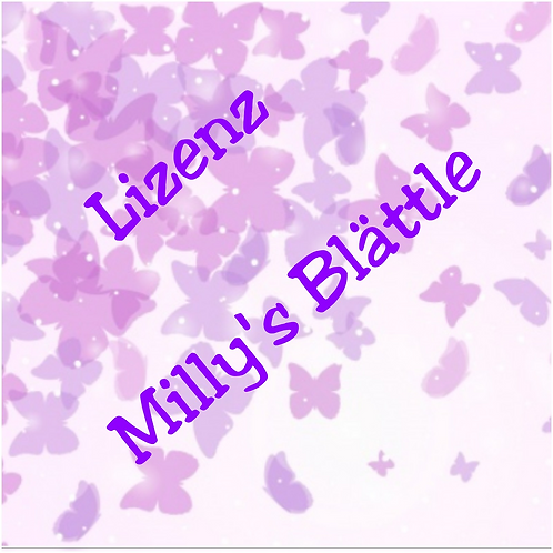 Lizenz Milly´s Blättle