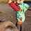 Thumbnail: Baumwolljersey Pirat auf mintgrün